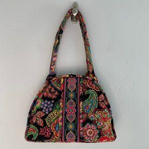 Vera Bradley Parisian Paisley Shoulder Bag